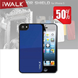 iWALK Mirror Shield Case for iPhone5