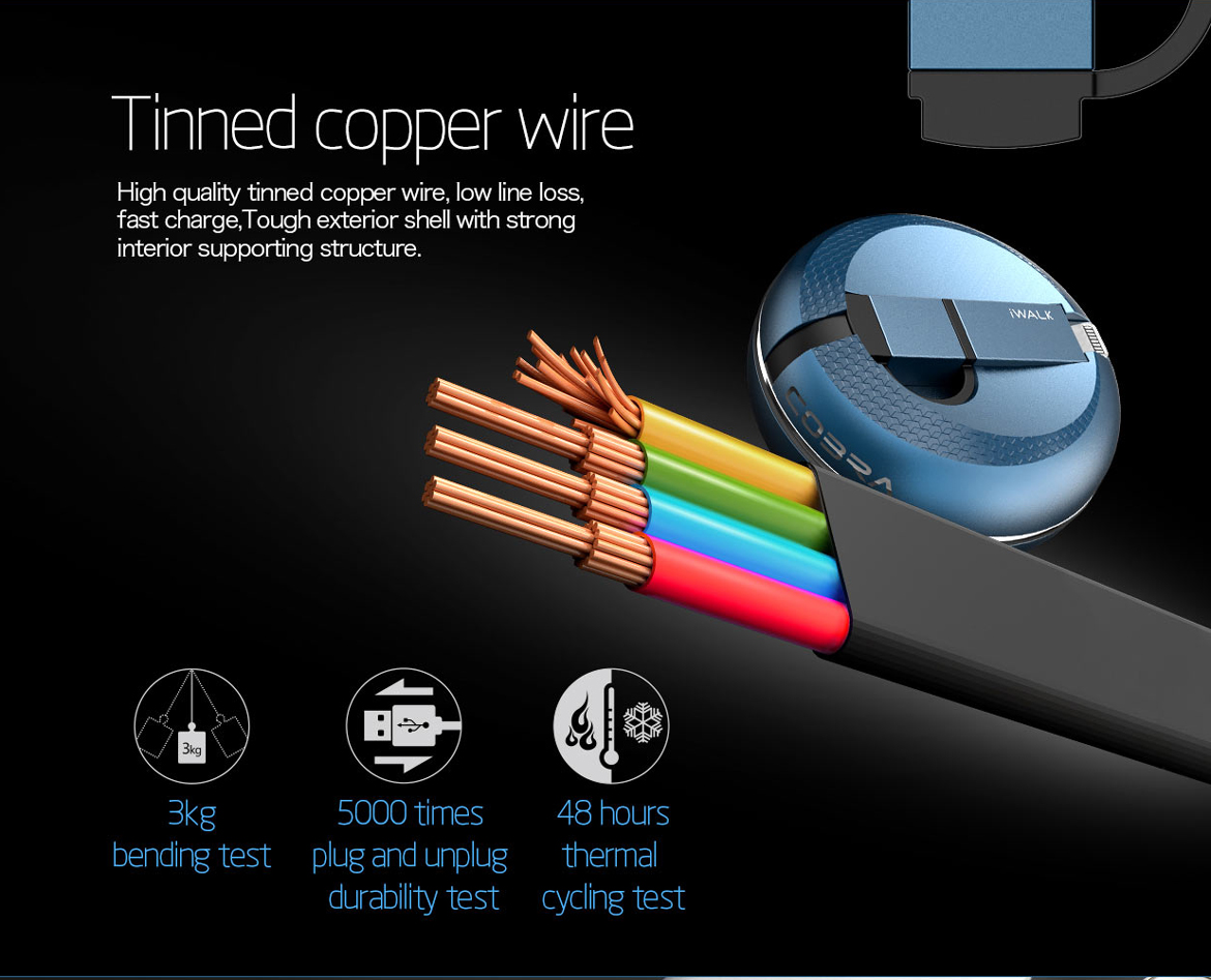 2 In 1 Compact Retractable Cable Iphone 4 Charger Cord Wiring Diagram Iphone6s Iphone6splus Iphone5siphone5c Iphone5 Ipad Mini New 2007 3g 3gsiphone 4sipod