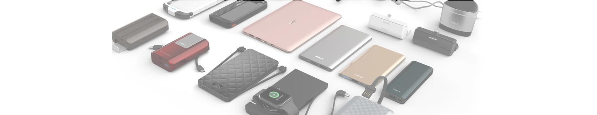 แบตเตอรี่สำรองสำหรับสมาร์ทโฟน มือถือ แท็ปเล็ตและโน้ตบุ๊ค
